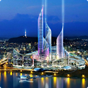 Seoul live wallpaper icon