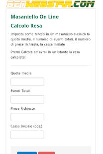 Masaniello On Line - náhled