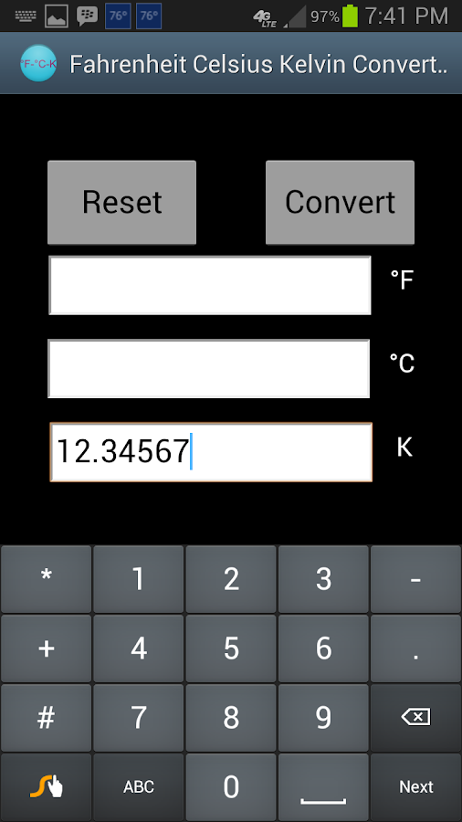 Fahrenheit celsius kelvin conv android apps on google play for 0 kelvin to fahrenheit conversion table
