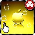 iPhone HD Gold LWP icon
