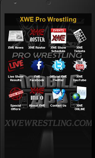 XWE Pro Wrestling App