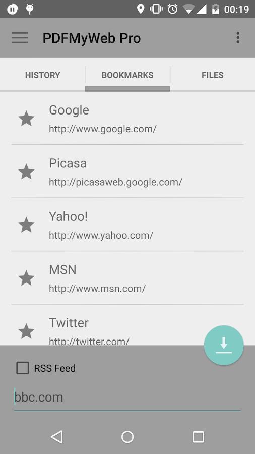 PDFMyWeb Pro - screenshot