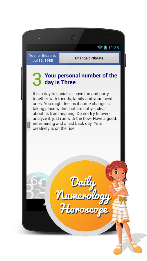 Numerology Daily Horoscope- screenshot