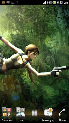 Tomb Raider Live Wallpaper