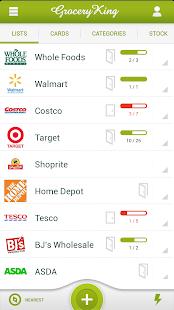 Grocery King Shop List Free Screenshot 1