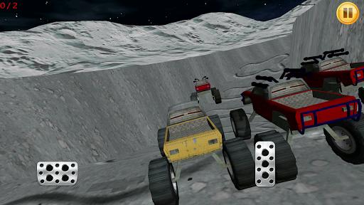月亮怪物卡车赛车