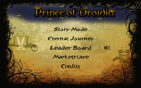 Prince of Droidia - screenshot thumbnail