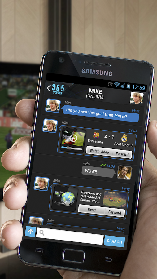 365Scores:Sports Scores & News - screenshot