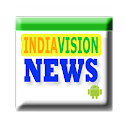 IndiaVision Breaking News logo