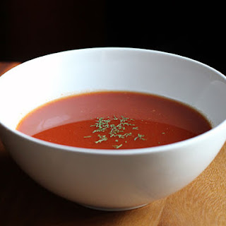 DIY Instant Tomato Bell Pepper Soup.