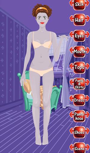 Zombie Girl Dress Up