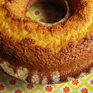 Orange Cake with Coconut.