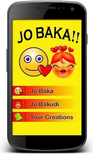 Jo Baka Bakudi Photo Creator
