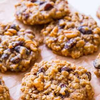 Soft & Chewy Oatmeal Raisin Cookies.