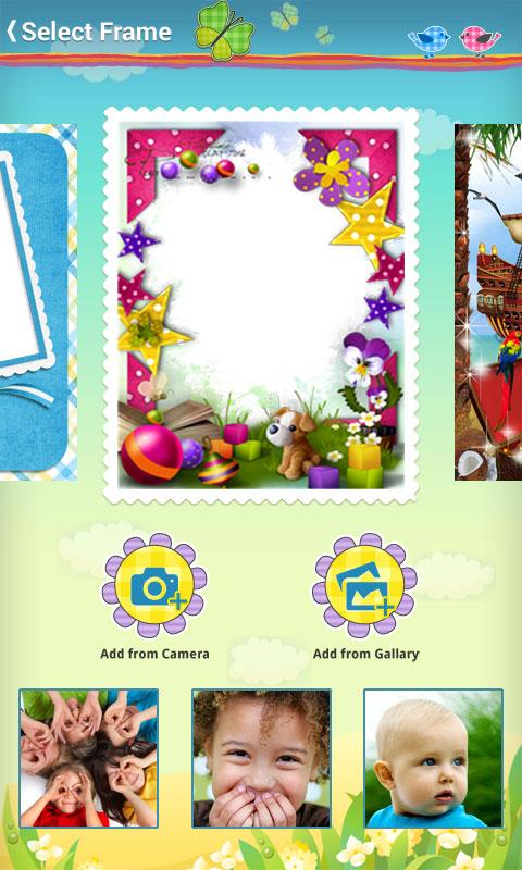 Kids Baby Photo Frames - screenshot