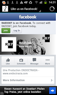 RADIO87 Live from Limoges FR - screenshot thumbnail