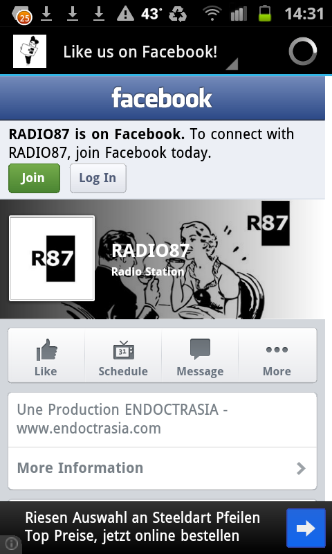 RADIO87 Live from Limoges FR - screenshot