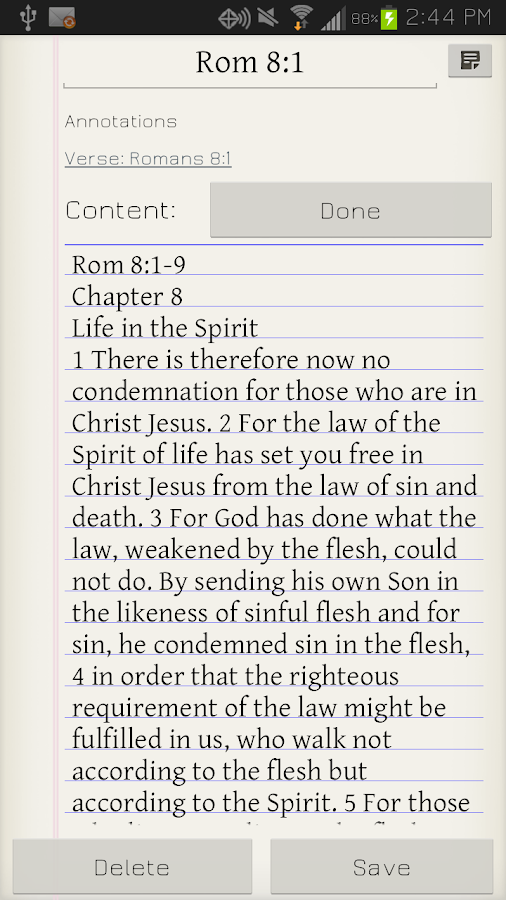 Bible Study - screenshot