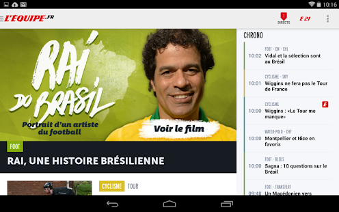 L'Equipe.fr : foot, rugby Screenshot 13