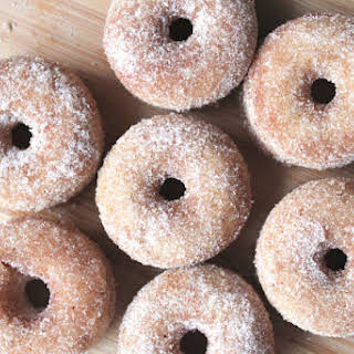 Mini Old Fashioned Donuts.