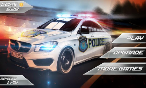 Police 3D Runner