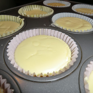 Individual Cheesecakes.