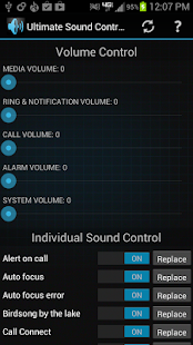 Ultimate Sound Control - screenshot thumbnail