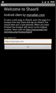 Shaarli- screenshot thumbnail