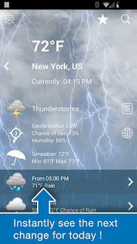 Weather XL PRO APK screenshot thumbnail 2