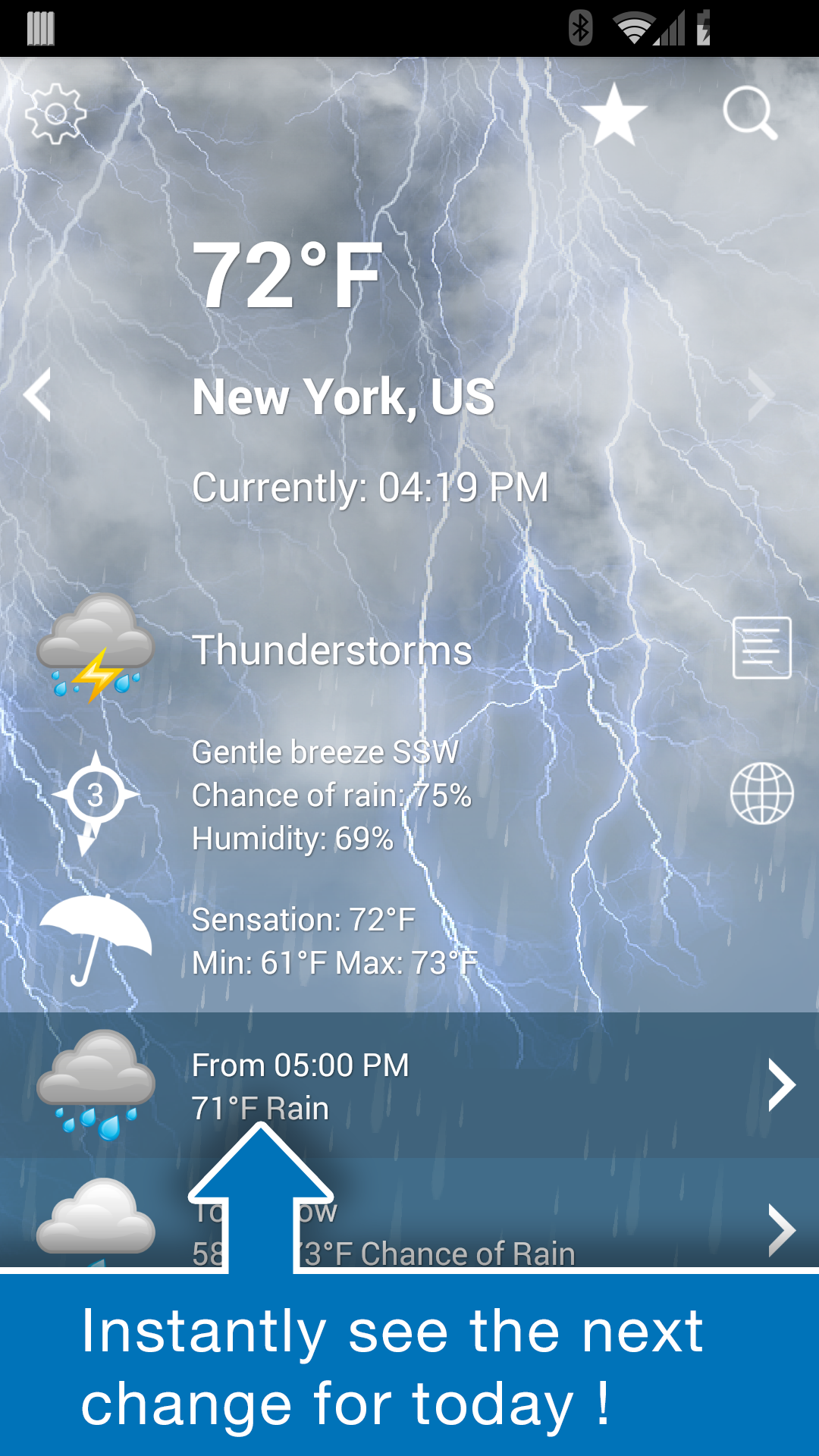 Weather XL PRO screenshot #2
