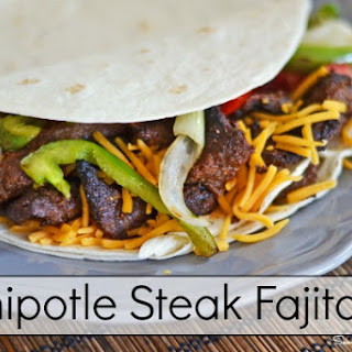 Chipotle Steak Fajitas Featuring Tastefully Simple Chipotle Beer Marinade Mix