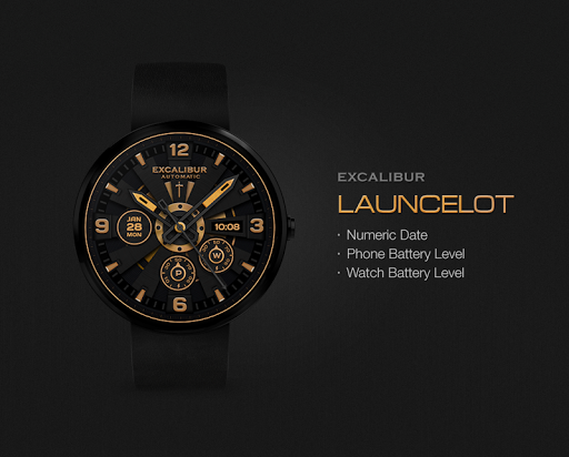 Launcelot watchface by Excalib