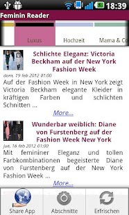 Feminin Reader - screenshot thumbnail