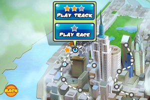 Screenshot of 3D Rollercoaster Rush NewYork