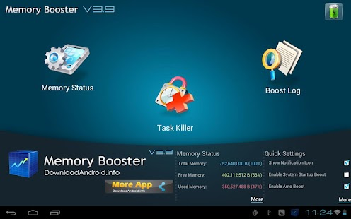 Memory Booster Tablet Version - screenshot thumbnail
