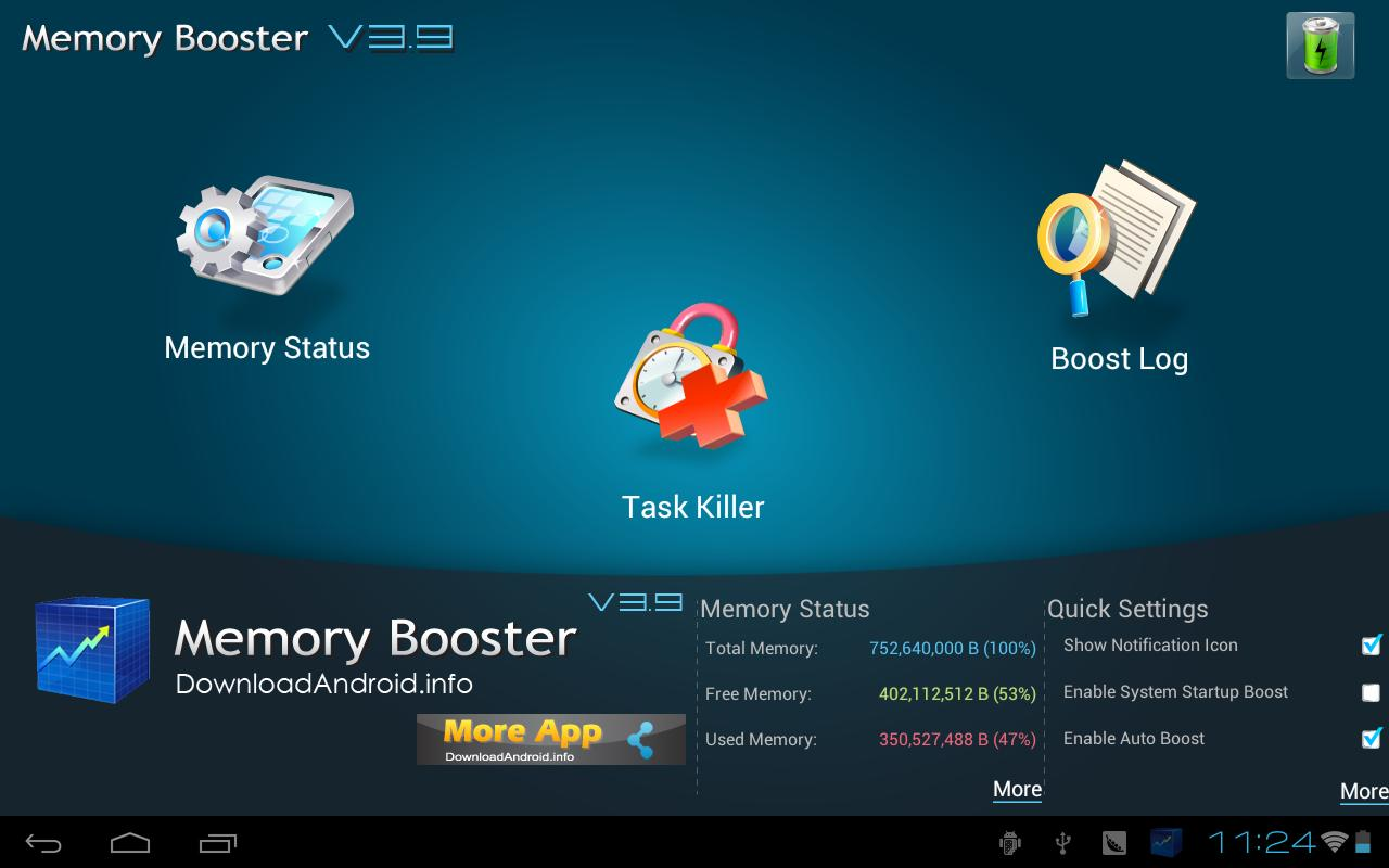 Memory Booster Tablet Version - screenshot