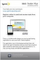 Screenshot of Sprint Web Texter Plus