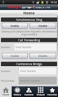 Screenshot of one-X Mobile Lite for CS1K