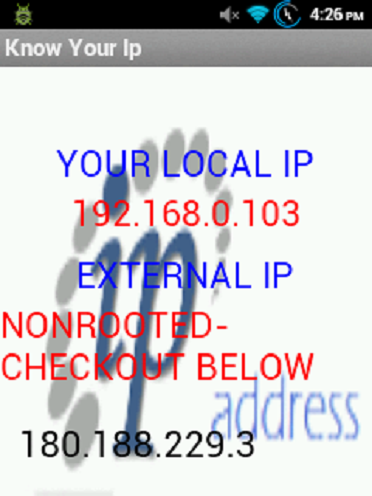Know your Ip
