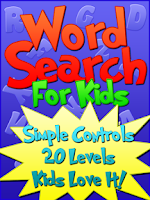 Screenshot of Word Search For Kids