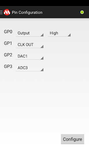 MCP2221 Terminal app (apk) free download for Android/PC/Windows screenshot