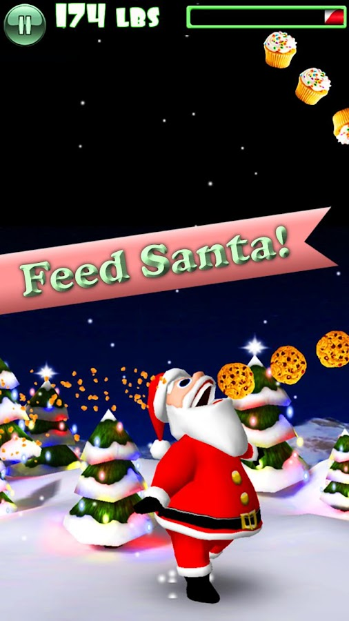 Hungry Santa: captura de pantalla