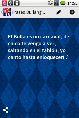 Frases Bullangueras - screenshot