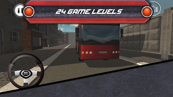 Bus Parking 3D Simulator- screenshot thumbnail