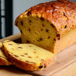Sweet Potato & Raisin Bread [Recipe]