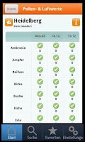 Screenshot of AsthmaApp
