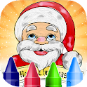 Christmas Coloring Book 4 Kids icon
