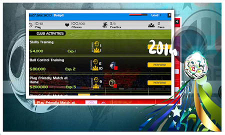 World Cup 2014 Soccer Manager 1.0 screenshot 52321