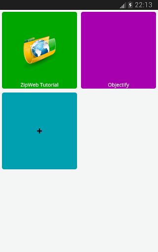 ZipWeb to Read anytime offline