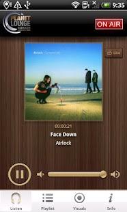 Planet Lounge Radio- screenshot thumbnail